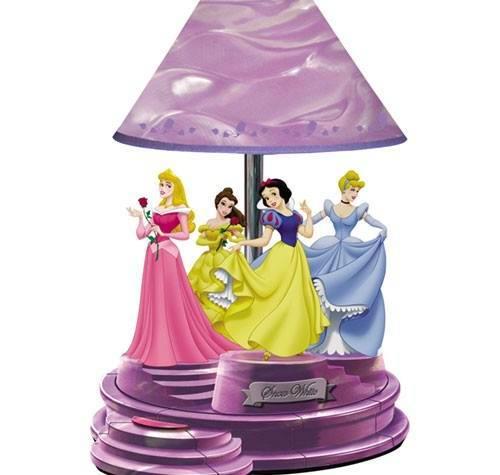 Disney Table Lamp : Disney princess table lamp